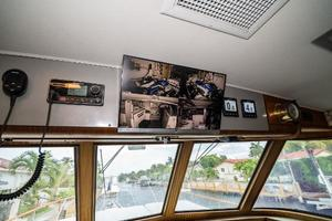 63' Hatteras 63 Cockpit Motor Yacht 1987 Engine Room Cameras