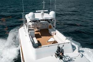63' Hatteras 63 Cockpit Motor Yacht 1987 Flybridge