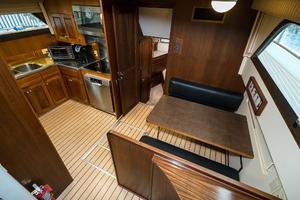 63' Hatteras 63 Cockpit Motor Yacht 1987 Lower Deck