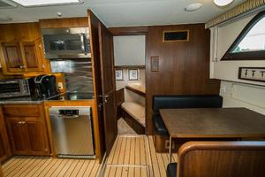 63' Hatteras 63 Cockpit Motor Yacht 1987 Lower Deck Forward