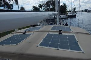 49' Nordia Van Dam 49 1989 Solar panels - attached to Bimini