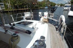 49' Nordia Van Dam 49 1989 Aft deck ( all new teak)