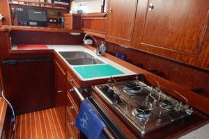 49' Nordia Van Dam 49 1989 Galley - looking forward
