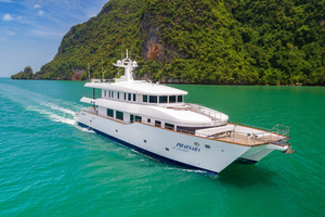 120' Custom Incat Crowther 37m Power Catamaran 2012 PhatsaraIncatCrowtherPowerCatamaranforsale