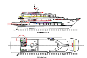 121' Custom Incat Crowther 37M Power Catamaran 2012 Phatsara -Incat Crowther Power Catamaran for sale