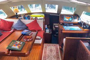 73' Sensation Yachts  1997 Opus 73 pilothouse