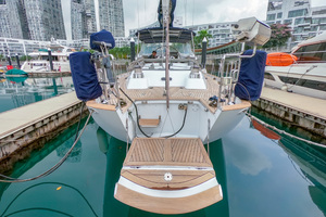 73' Sensation Yachts  1997 Opus 73 transom platform