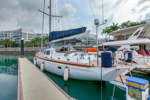 73' Sensation Yachts  1997 Opus 73 Port side aft