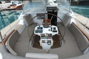 73' Sensation Yachts  1997 Opus 73 helm