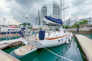 73' Sensation Yachts  1997 Opus 73 Stbd side aft