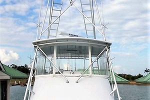 58' Garlington 58 Convertible 1988 Bow Looking Aft