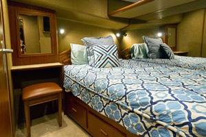 58' Garlington 58 Convertible 1988 VIP Stateroom
