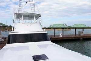 58' Garlington 58 Convertible 1988 Looking Aft