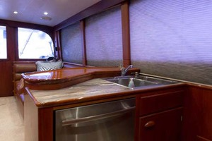 58' Garlington 58 Convertible 1988 Galley Port