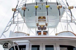 58' Garlington 58 Convertible 1988 Tower from Stern