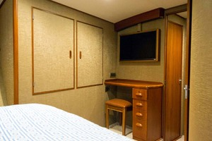 58' Garlington 58 Convertible 1988 Master Stateroom Desk