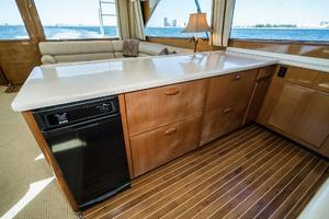 58' Viking 58 Convertible 2000 Galley 2