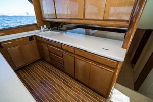 58' Viking 58 Convertible 2000 Galley 3