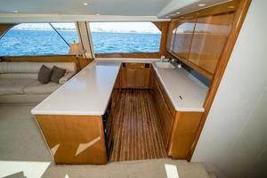 58' Viking 58 Convertible 2000 Galley 1