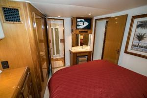 58' Viking 58 Convertible 2000 Master Stateroom Facing Forward