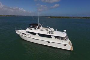 74' Hatteras 74 Motor Yacht 1981 Port Side