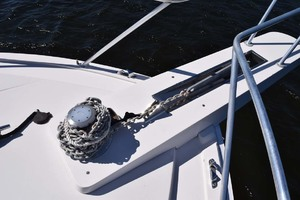 60' Bertram 60 Convertible 1998 Bow Anchor Chain Detail