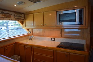 60' Bertram 60 Convertible 1998 Galley View