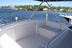 60' Bertram 60 Convertible 1998 Upper Helm Seating to Bow