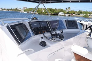 60' Bertram 60 Convertible 1998 Upper Helm Electronics