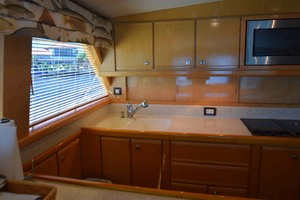 60' Bertram 60 Convertible 1998 Galley Sink and Counters