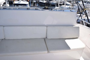 60' Bertram 60 Convertible 1998 Upper Helm Seating