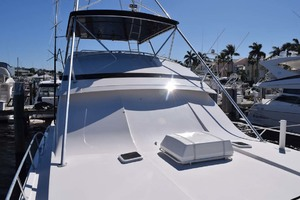 60' Bertram 60 Convertible 1998 Bow View to Helm on Starboard