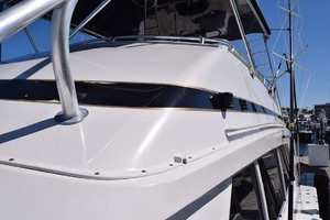 60' Bertram 60 Convertible 1998 Bow to Stern Walk on Port Side