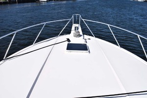 60' Bertram 60 Convertible 1998 Bow Mid View