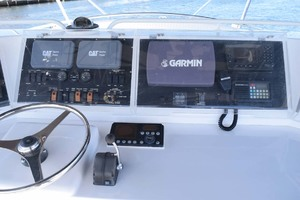 60' Bertram 60 Convertible 1998 Upper Helm Garmin and Other Electronics