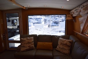 60' Bertram 60 Convertible 1998 Window in Salon