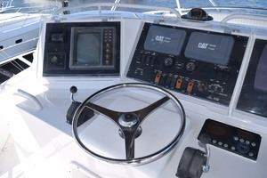 60' Bertram 60 Convertible 1998 Upper Helm Detail