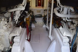 60' Bertram 60 Convertible 1998 Engine Room