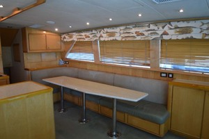 60' Bertram 60 Convertible 1998 Seating for 8 at Table