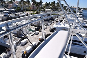 60' Bertram 60 Convertible 1998 Top of Tuna Tower View