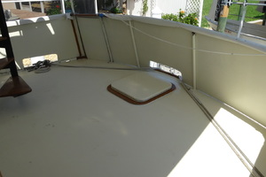 56' Morgan Long Range Cruiser 1971 AFT DECK