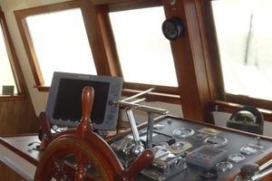 56' Morgan Long Range Cruiser 1971 PILOTHOUSE HELM