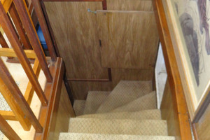56' Morgan Long Range Cruiser 1971 STAIRWELL TO MASTER STATEROOM