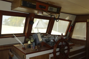 56' Morgan Long Range Cruiser 1971 PILOTHOUSE