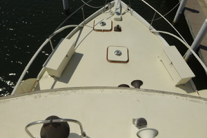 56' Morgan Long Range Cruiser 1971 FOREDECK