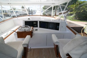 54' Scarborough Ricky Scarborough Custom Carolina Express 2004 Helm Electronics