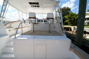 54' Scarborough Ricky Scarborough Custom Carolina Express 2004 Raised helm Deck