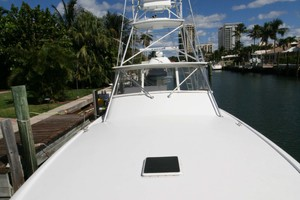 54' Scarborough Ricky Scarborough Custom Carolina Express 2004 Foredeck