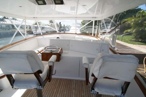 54' Scarborough Ricky Scarborough Custom Carolina Express 2004 Helm Seats