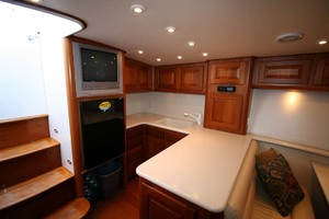 54' Scarborough Ricky Scarborough Custom Carolina Express 2004 Galley